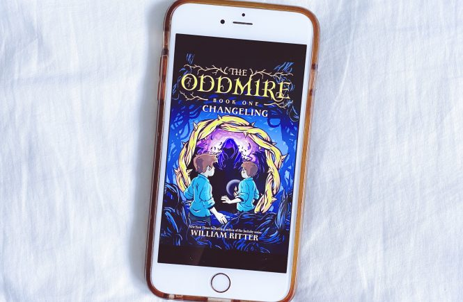 Ebook Cover: The Oddmire Book 1: The Changeling